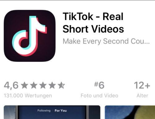 Social Media App TikTok